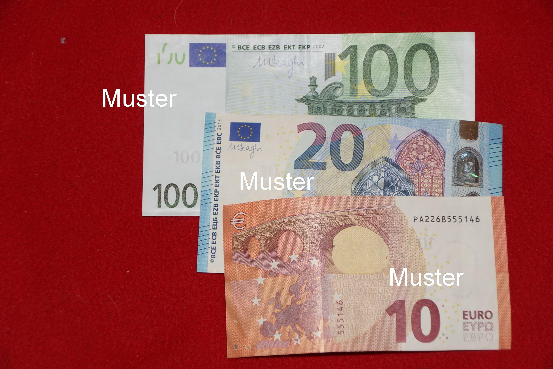 €130,- Geldspende