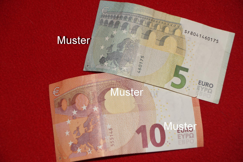 €15,- Geldspende