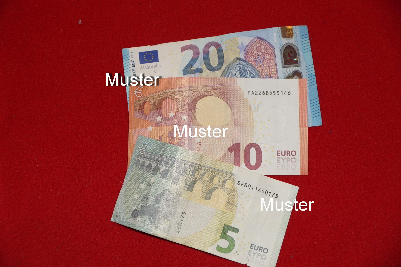 €35,- Geldspende