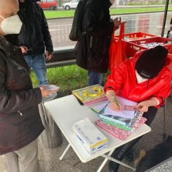 Obdachlosenhilfsaktion.at, Donnerstagsverteilung, Linz, Obdachlosenhilfe, Armut, Formulare