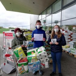 Spenden, Firmlinge, Johanna, Obdachlosenhilfe, Armut