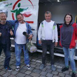 Affi, Leo, Richie und Ulli, Obdachlose die zusammenhalten und der Armut trotzden.