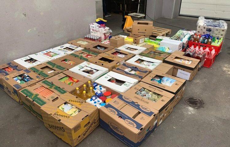 Spendenlieferung Notschlafstelle Vöcklabruck
