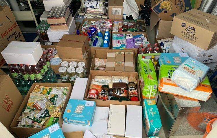 Spendenlieferung Frauenhaus Wels