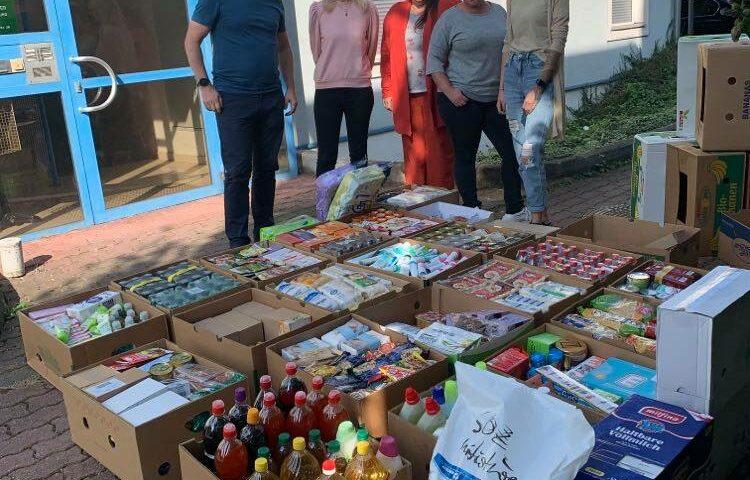 Spendenlieferung Soziale Initiative Linz