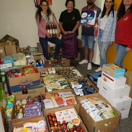 Spendenlieferung Soziale Arbeit Salzburg