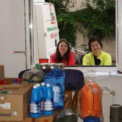 Spendenlieferung ins Vinzi-Dach Salzburg